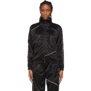 Danielle Cathari Black Deconstructed Track Jacket
