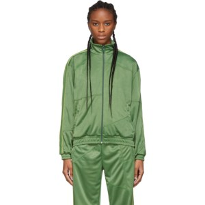 Danielle Cathari Green Deconstructed Track Jacket