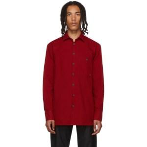 Etudes Red Portrait Shirt