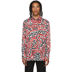 Etudes Multicolor Keith Haring Edition All Over Reflet Shirt