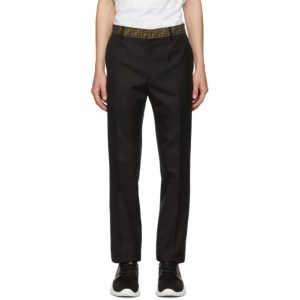 Fendi Black Forever Fendi Trousers