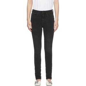 Victoria Victoria Beckham Black Powerhigh V Shape Jeans