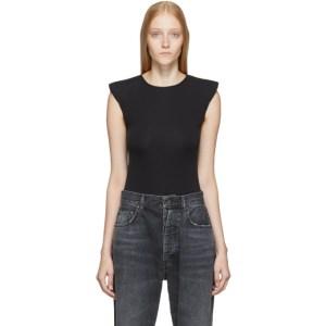Unravel Black Padded Bodysuit