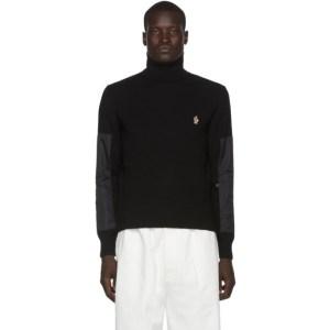 Moncler Grenoble Black Knit Turtleneck