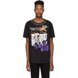 Faith Connexion Black NTMB T-Shirt