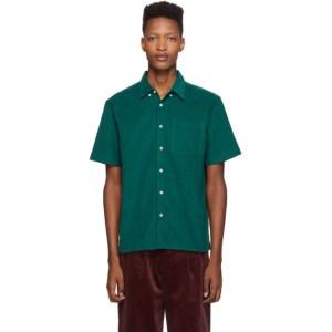 Saturdays NYC Green Cord Bruce Shirt