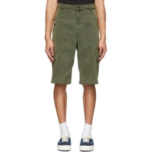 Diesel Green D-Krett Shorts