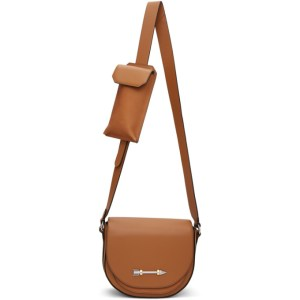 Mackage Tan Saddle Bag
