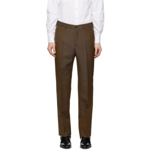 Cobra S.C. Brown Wool Classic Trousers