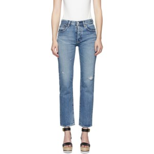 Moussy Vintage Blue Friant Jeans