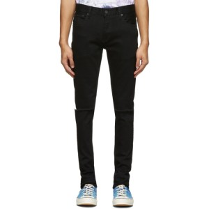 Moussy Vintage Black Rebirth Skinny Jeans