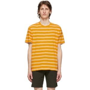 Norse Projects Orange Stripe Johannes T-Shirt