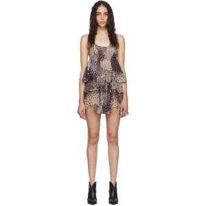 Dsquared2 Multicolor Silk Ophelia Dress