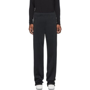 Random Identities Black Dressy Track Pants
