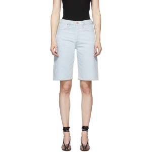 Goldsign Blue Denim The Bermuda Shorts