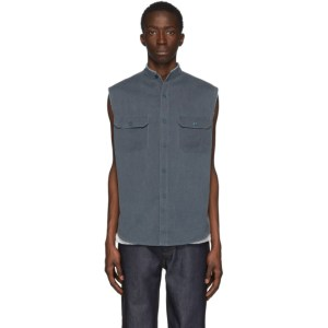 Sankuanz Blue Sleeveless Shirt