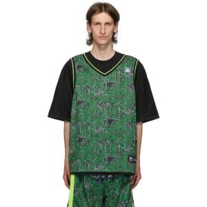 Sankuanz Reversible Black and Green adidas Originals Edition Gore Halp T-Shirt