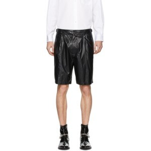 Nomenklatura Studio Black Nylon Shorts