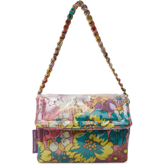 marc jacobs multicolor the pillow bag in 651 pink mu