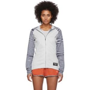 adidas x Missoni White PHX Zip-Up Jacket