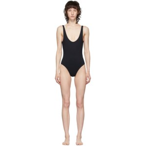 Lido Black Low Back Sette Olympic One-Piece