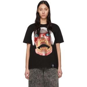 S.R. STUDIO. LA. CA. Black ED. 50 White Haired Red Skull T-Shirt