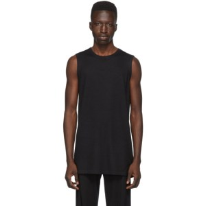 Frenckenberger SSENSE Exclusive Black Cashmere Tank Top