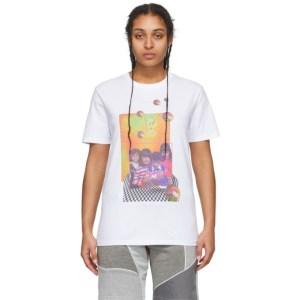 Ahluwalia White Siblings T-Shirt