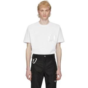 HELIOT EMIL White PVC Pocket T-Shirt