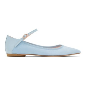 Repetto Blue Clemence Ballerina Flats