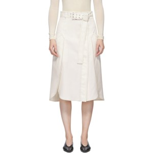 Sportmax White Kadiak Skirt