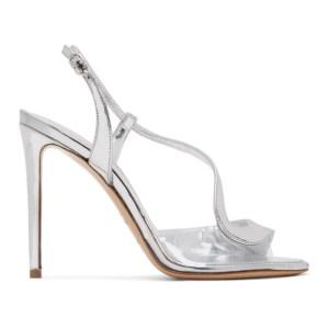 Nicholas Kirkwood Silver Patent S Sandals