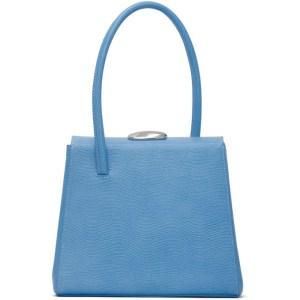 Little Liffner Blue Lizard Madame Bag
