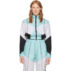 Kirin Blue and White Combo Track Jacket
