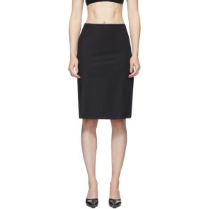 Coperni Black Cut-Out Skirt