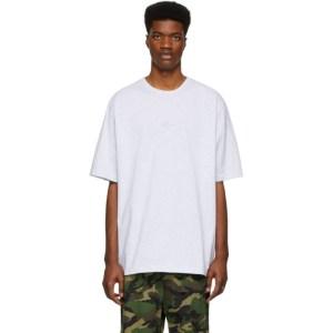 Juun.J Grey Decal T-Shirt