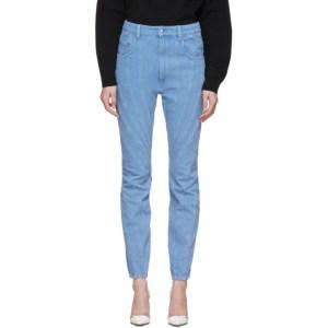 Mugler Blue Twist Jeans