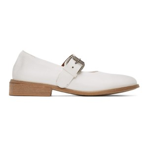 Marsell White Buckle Marcellina Shoes