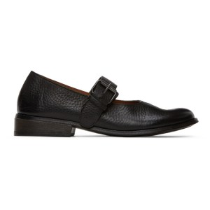 Marsell Black Buckle Marcellina Shoes