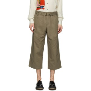 Davi Paris Khaki Sahara Trousers