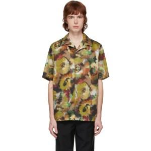 Davi Paris Khaki Branly Short Sleeve Shirt
