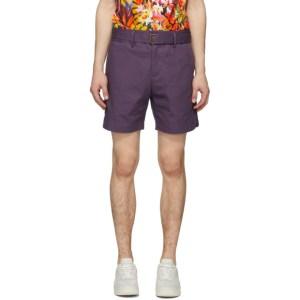 Davi Paris Blue Sahara Shorts
