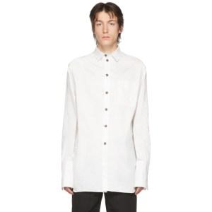 Boramy Viguier White Extended Hem Shirt