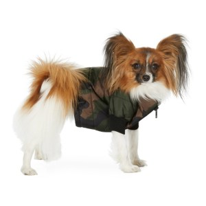 VIP SSENSE Exclusive Green Camo Puffer Jacket