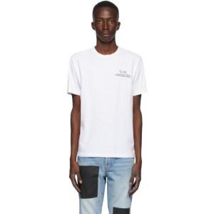 Benjamin Edgar SSENSE Exclusive White Reality Distortion Field T-Shirt