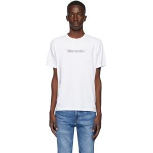 Benjamin Edgar SSENSE Exclusive White Mere Mortals T-Shirt