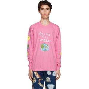 Kids Worldwide Pink Change The World T-Shirt