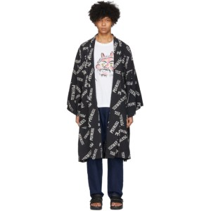 Visvim Black Kieje Haveli Coat
