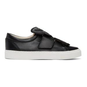 Sophia Webster Black Butterfly Sneakers