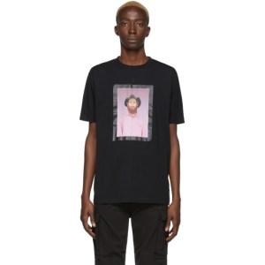 Marcelo Burlon County of Milan Black Gaucho Frame T-Shirt